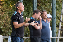 coach Frank Wormuth of Heracles Almelo during the Pre-season Friendly match between Heracles Almelo and Fiorentina at Sportpark Wiesel  on August 01, 2018 in Wenum-Wiesel , The Netherlands