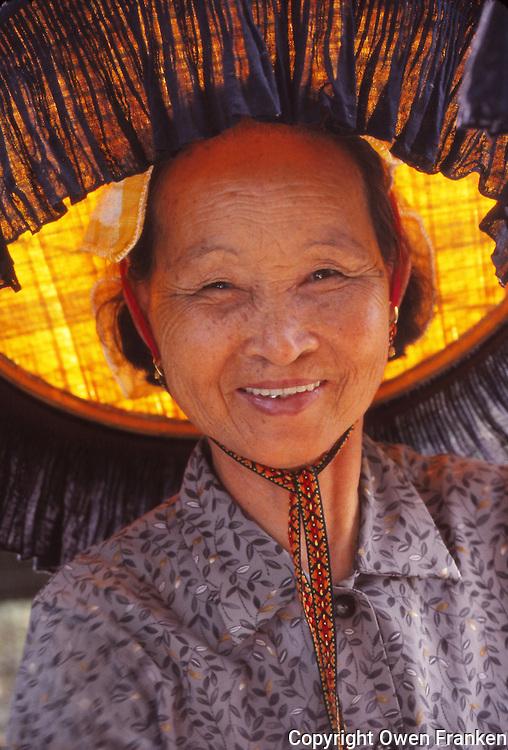 Smiling Hong Kong Woman