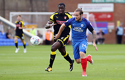 Jack Marriott of Peterborough United in action with Josh Emmanuel of Rotherham United - Mandatory by-line: Joe Dent/JMP - 19/08/2017 - FOOTBALL - ABAX Stadium - Peterborough, England - Peterborough United v Rotherham United - Sky Bet League One