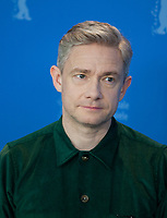 Actor Martin Freeman at the photocall for the film The Operative (Die Agentin) at the 69th Berlinale International Film Festival, on Sunday 10th February 2019, Hotel Grand Hyatt, Berlin, Germany.
