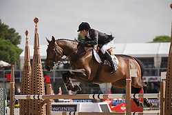 Amilibia Paola (ESP) - Prunella D'Ariel<br /> Challenge Cup<br /> Furusiyya FEI Nations Cup™ Final - Barcelona 2014<br /> © Dirk Caremans<br /> 10/10/14