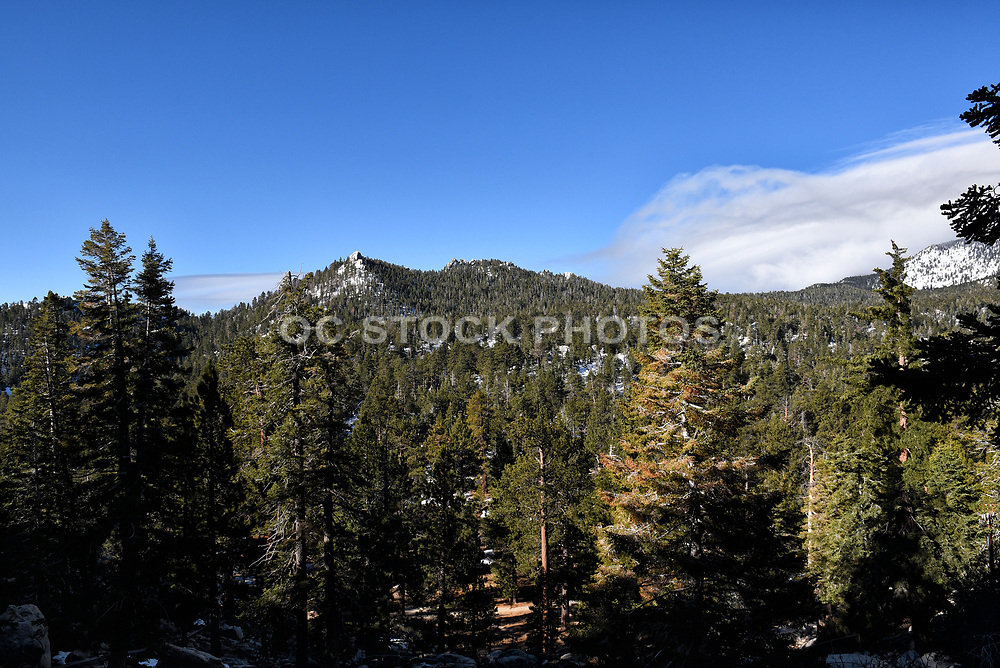 Clouds over San Jacinto Mountains