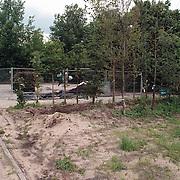 Gemeentewerf groenvoorziening Huizen aan de Gemeenlandslaan