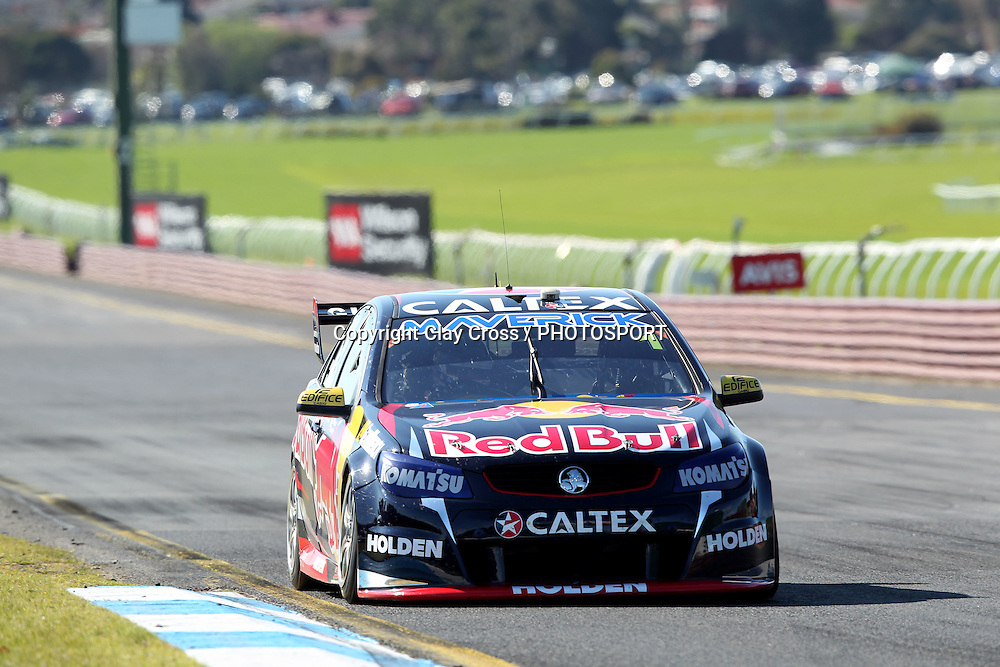 Jamie Whincup & Paul Dumbrell (Red Bull Holden). 2015 Wilson Security Sandown 500. V8 Supercars Championship Round 9. Sandown International Raceway, Victoria. Sunday 13 September 2015. Photo: Clay Cross / photosport.nz