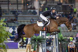 BRASH Scott (GBR), Hello Senator<br /> Doha - CHI Al SHAQAB 2020<br /> Commercial Bank CHI Al Shaqab Grand Prix presented by LONGINES<br /> Int. jumping competition over two rounds and jump-off (1.60 m)<br /> 29. Februar 2020<br /> © www.sportfotos-lafrentz.de/Stefan Lafrentz