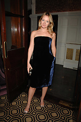 KATE REARDON at a party to celebrate the launch of the Astley Clarke Fine Jewellery Collection held at The Connaught hotel, London W1 on 28th February 2008.<br />
