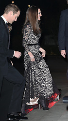 The Duchess of Cambridge arriving at a screening of David Attenborough's Natural History Museum Alive 3D at the Natural History Museum in London, Wednesday, 11th December 2013. Picture by Stephen Lock / i-Images