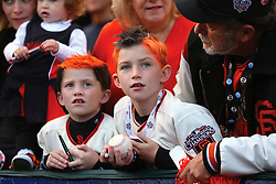 Fans, 2012 World Series Champion Giants