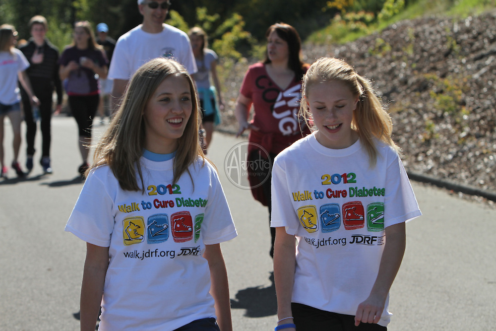 JDRF South Sound - Walk To Cure 2012 at Cheney Stadium.