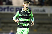Forest Green Rovers Nathan Trueman(4) during the The FA Youth Cup match between Bristol Rovers and Forest Green Rovers at the Memorial Stadium, Bristol, England on 2 November 2017. Photo by Shane Healey.