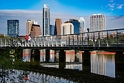 Austin Skyline, Austin, Texas, November 9, 2015.
