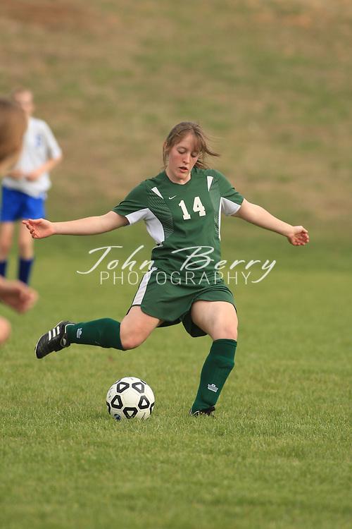 MCHS JV Girl's Soccer.vs Greene.4/8/2008.Madison 2, Greene 0.