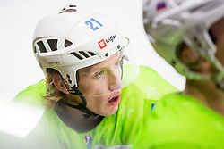 Drozg during Hockey match between Slovenia and Ukraine in IIHF U20 World Cup Division I, Group B, on December 9, 2017 in Dvorana Bled, Bled, Slovenia. Photo by Ziga Zupan / Sportida