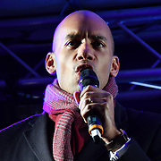 Chuka Umunna attends People's vote to Stop Brexit rally due to Brexit vote in Parliament on 15 January 2019, London, UK