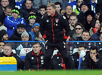 Football - 2016 / 2017 Premier League - Chelsea vs. AFC Bournemouth<br /> <br /> Bournemouth Manager Eddie Howe at Stamford Bridge.<br /> <br /> COLORSPORT/ANDREW COWIE