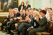 SPECIAL OLYMPICS OFFICIAL VISIT AT PRESIDENTIAL PALACE IN WARSAW...THE IDEA OF SPECIAL OLYMPICS IS THAT, WITH APPROPRIATE MOTIVATION AND GUIDANCE, EACH PERSON WITH INTELLECTUAL DISABILITIES CAN TRAIN, ENJOY AND BENEFIT FROM PARTICIPATION IN INDIVIDUAL AND TEAM COMPETITIONS..WARSAW , POLAND , OCTOBER 19, 2011..MANDATORY CREDIT: PHOTO BY ADAM NURKIEWICZ / MEDIASPORT