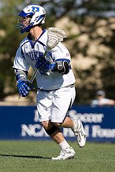 06 May 2007: Duke Blue Devils attackman Chris Loftus (2) during a 19-6 victory over the Air Force Falcons at Koskinen Stadium in Durham, NC.