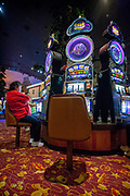 Images from the Bally's Hotel and Casino in Atlantic City  October 2010. The city is in trouble after three casinos have closed in rapid succession, the latest being The Revel Resort.