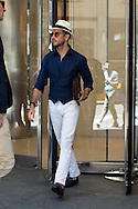 White Jeans and Navy Vest, Outside Polo Ralph Lauren SS2016