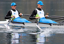 Matevz Malesic and Jure Cvet during media day of Slovenian National rowing team before World Championships in New Zealand 2010 on October 14, 2010 in Mala Zaka, Bled, Slovenia. (Photo by Vid Ponikvar / Sportida)