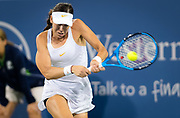 Ajla Tomljanovic of Australia in action during her second-round match at the 2018 Western and Southern Open WTA Premier 5 tennis tournament, Cincinnati, Ohio, USA, on August 15th 2018 - Photo Rob Prange / SpainProSportsImages / DPPI / ProSportsImages / DPPI