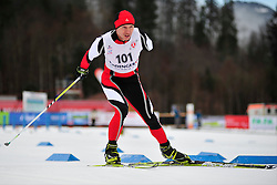 VAUCHUNOVICH Siarhei, BLR at the 2014 IPC Nordic Skiing World Cup Finals - Sprint