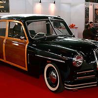 "1948 Lancia Aprilia, Francis Lombardi ""Woody"" one-off, Retro Classics 2011"