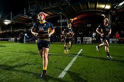 Beck Cutting of Worcester Cavaliers - Mandatory by-line: Robbie Stephenson/JMP - 24/09/2018 - RUGBY - Sixways Stadium - Worcester, England - Worcester Cavaliers v Sale Jets - Premiership Rugby Shield