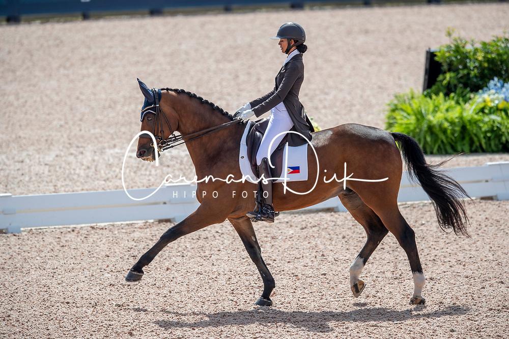Tzinberg Ellesse, PHI, Triviant 2<br /> World Equestrian Games - Tryon 2018<br /> © Hippo Foto - Dirk Caremans<br /> 13/09/18