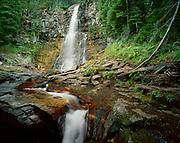 AA02163-03....MONTANA - Virginia Creek Falls, Glacier National Park.