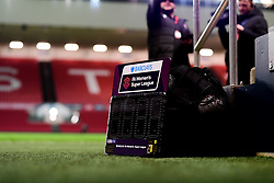 Subs board - Mandatory by-line: Ryan Hiscott/JMP - 17/02/2020 - FOOTBALL - Ashton Gate Stadium - Bristol, England - Bristol City Women v Everton Women - Women's FA Cup fifth round