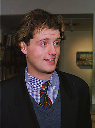 The HON.RORY GUINNESS at an exhibition in London on 3rd December 1997.<br /> MDY 27