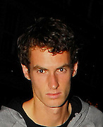 09.JULY.2008. LONDON<br /> <br /> ANDY MURRAY AND HIS BROTHER JAMIE WEARING THE SAME TRAINERS, HAVING DINNER AT NOBU RESTAURANT, BERKLEY SQUARE, LONDON<br /> <br /> BYLINE: EDBIMAGEARCHIVE.CO.UK<br /> <br /> *THIS IMAGE IS STRICTLY FOR UK NEWSPAPERS AND MAGAZINES ONLY*<br /> *FOR WORLD WIDE SALES AND WEB USE PLEASE CONTACT EDBIMAGEARCHIVE - 0208 954 5968*