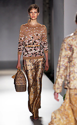 Mulberry  show at London  Fashion Week for Spring/Summer 2013 Tuesday, September 18th 2012.  Photo by: Stephen Lock / i-Images