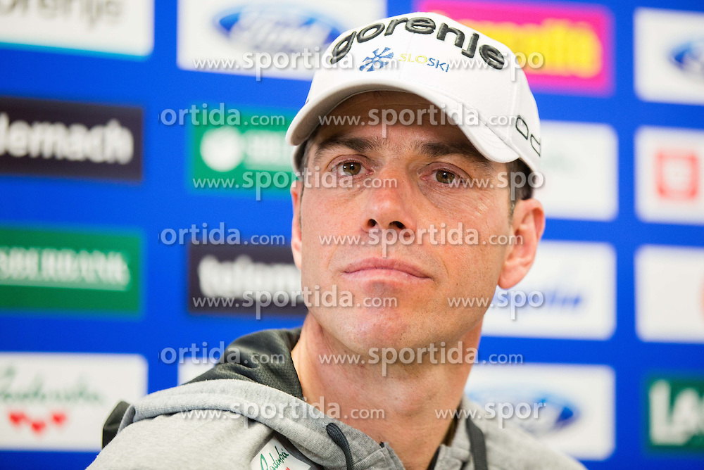 Steffano Sarraco, coach during press conference of Slovenian Nordic XC team before FIS Nordic World Ski Championship Lahti 2017, on February 14, 2017 in SZS, Ljubljana, Slovenia. Photo by Vid Ponikvar / Sportida