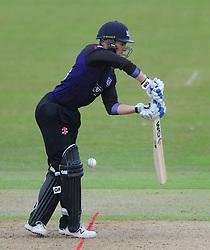 caption correction: Chris Dent of Gloucestershire  - Photo mandatory by-line: Dougie Allward/JMP - Mobile: 07966 386802 - 14/07/2015 - SPORT - Cricket - Cheltenham - Cheltenham College - Natwest T20 Blast