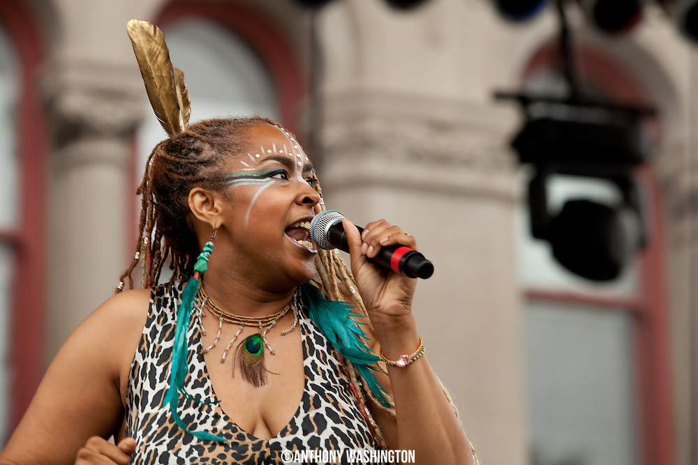 Navasha Daya performs at Artscape in Baltimore, MD on Friday, July 20, 2012