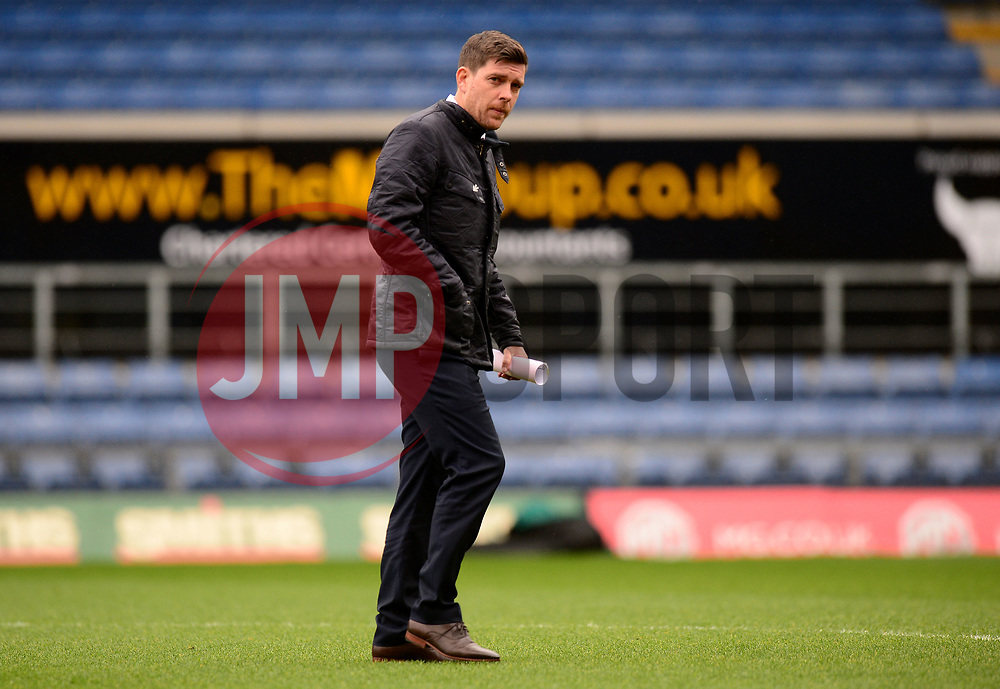 Bristol Rovers manager Darrell Clarke - Mandatory by-line: Alex James/JMP - 10/02/2018 - FOOTBALL - Kassam Stadium - Oxford, England - Oxford United v Bristol Rovers - Sky Bet League One
