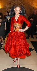 Actress EMILIA FOX at the 2005 Whitbread Book Awards 2005 held at The Brewery, Chiswell Street, London EC1 on 24th January 2006. The winner of the 2005 Book of the Year was Hilary Spurling for her biography 'Matisse the Master'.<br />