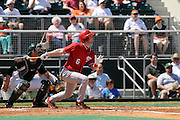 March 8, 2009: Dallas Poulk of the North Carolina State Wolfpack in action during the NCAA baseball game between the Miami Hurricanes and the North Carolina State Wolfpack. The 'Canes defeated the Wolfpack 9-7.