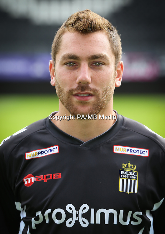 Charleroi's Guillaume Francois pictured during the 2015-2016 season photo shoot of Belgian first league soccer team Sporting de Charleroi, Tuesday 14 July 2015 in Charleroi.