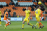 Bristol Rovers Defender, Tony Craig (5) , Bristol Rovers Midfielder, Liam Sercombe (7) and Blackpool Forward, Nathan Delfouneso (7)  during the EFL Sky Bet League 1 match between Blackpool and Bristol Rovers at Bloomfield Road, Blackpool, England on 3 November 2018.