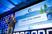 The Linux Foundation hosts its Open Source Leadership Summit at Resort at Squaw Creek in Olympic Valley, California, on February 14, 2017. (Stan Olszewski/SOSKIphoto)