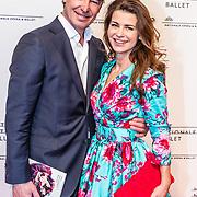 NLD/Amsterdam/20170320 - Onegin – Het Nationale Ballet premiere, Caroline de Bruijn en partner erik Vogel
