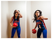 WASHINGTON, DC -- JANUARY 15: Paniz Asgari, 29, is a USA Women's Dodgeball player who competed at the world championship last year in New Zealand…. (photo by Andre Chung for The Washington Post)