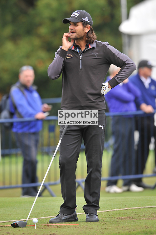 Johan Edfors Sweden, British Masters, European Tour, Woburn Golf Club, 8th October 2015