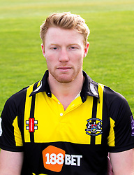 Liam Norwell of Gloucestershire Cricket poses for a headshot in the Royal London One Day Cup kit - Mandatory by-line: Robbie Stephenson/JMP - 04/04/2016 - CRICKET - Bristol County Ground - Bristol, United Kingdom - Gloucestershire  - Gloucestershire Media Day