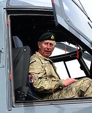 Westport-Royals, Prince Charles visits multi nation army exercise