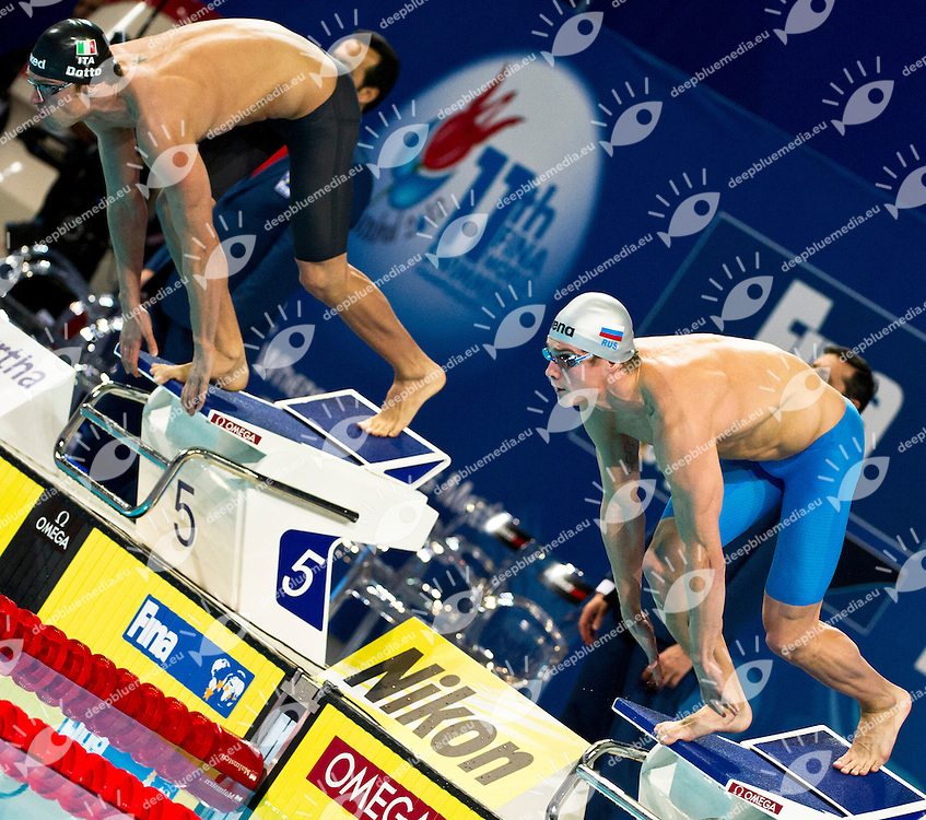 MOROZOV Vladimir RUS  Gold Medal.Men 100m Freestyle.FINA World Short Course Swimming Championships.Istanbul Turkey 12 - 16 Dec. 2012.Day 05.Photo G.Scala/Deepbluemedia/Inside