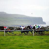 Action from the Lisdoonvarna races over the weekend.<br />